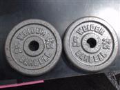 WEIDER FITNESS Exercise Equipment STEEL PLATES